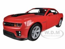 2012 CHEVROLET CAMARO ZL1 COUPE RED 1/24 DIECAST CAR MODEL BY GREENLIGHT 18215