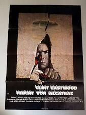 FLUCHT VON ALCATRAZ * Clint Eastwood - A1-FILMPOSTER- German 1-Sheet ´79