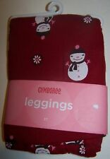 NWT GYMBOREE ALPINE SWEETIE RED SNOWMAN LEGGINGS 18-24 mo Free US Shipping