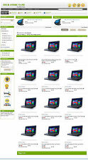 eBay Professional Design Listing Template and Store Layout Theme baby Green