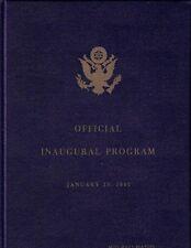 John F. Kennedy Deluxe Inaugural Program Hardcover