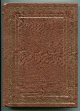The Oregon Trail by Francis Parkman - Franklin Library full leather