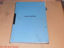 HONDA VF750 CUSTOM GENUINE WORKSHOP MANUAL