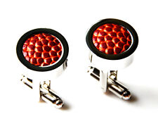 Special Real Basketball Cufflinks - Business Gift - Handmade - Gift Box