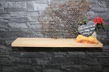 Wandboard massiv Eiche Holz lackiert Regalbrett 80 cm Bord Wildeiche