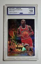 Michael Jordan 1996-97.Flair Showcase Row 1 Sec 1 & Row 2 Seat 23 Graded CCG 10