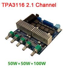 TPA3116 2.1 Channel 12V 100W+50W+50W Audio Speaker HIFI Digital Amplifier Board