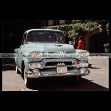#pha.001317 Photo GMC S-100 PICKUP (S100) 1958 Car Auto
