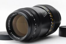【B- Good】 Leica 135mm f/4 black Tele-Elmar M lens Medium-term model JAPAN Y3374