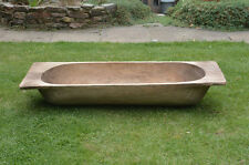 Vintage old wooden dough bowl / trough / planter  FREE DELIVERY