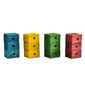 Groovy Blocks Parrot Toy-Making Parts - Large - Pack of 12