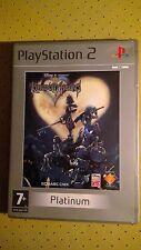 Juego Sony PlayStation 2 PS2 Kingdom Hearts Platinum SQUARC CNIX Disney PAL