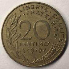 F.156 Monnaie Française 20 Centimes Marianne 1979 Achat Unitaire