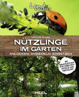 Nützlinge im Garten anlocken ansiedeln einsetzen Bauanleitung Insektenhotel Buch