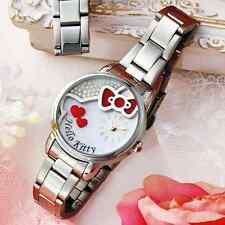 Rare Sanrio Japan Limited Pink Hello Kitty Cute Lady Wrist Watch Gift Hellokitty