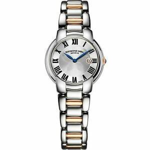 $1495   Raymond Weil Women's Jasmine Rose Gold Silver Tone Watch - 5229-S5-01659
