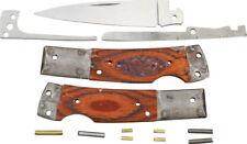 Rough Rider RRCS6 Custom Shop Folding Lockback Pocket Knife Making Build Kit