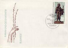 Ersttagsbrief DDR MiNr. 3122, Internationale Mahn- und Gedenkstätten