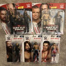 WWE BATTLE PACK WWE FIGURE LOT