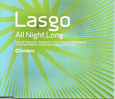 LASGO All Night Long 6 TRX w/ REMIXES & EDIT Europe CD single SEALED USA seller