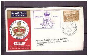 s16152) NORFOLK 2.6.1953 AM Cover QEII Coronation Norfolk London UK