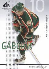 SP Game Used 2002/03 Jaromir Jagr Marian Gaborik Base cards