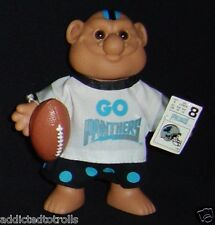 FOOTBALL Troll Doll PANTHERS - NFL Excellent - CAROLINA PANTHERS
