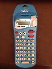037 Dymo LetraTag Personal Label Maker Handheld Light Blue ESSELTE