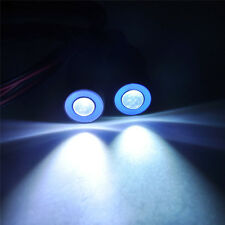 Climbing Dome 2Leds Angel Eye Headlight LED Light Lamp For 1/10 RC Car Vehicle