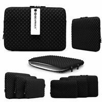 Urcover® Universal Laptop Tasche Notebook Schutz Hülle Sleeve 11,6 Zoll Schwarz