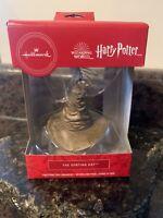 Hallmark Harry Potter Wizarding World The Sorting Hat Ornament NIB