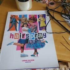 More details for hairspray musical 2021 programme michael ball les dennis london coliseum new