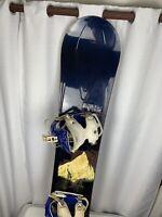 Ride Yukon Flow Snowboard 163 CM - Beautiful Snow Board With Bindings