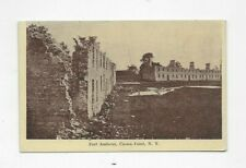 1909 Postcard Fort Amherst Crown Point NY Champlain Tercentennial R2738
