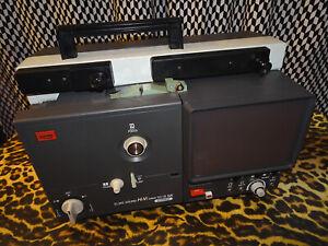 ELMO Super 8mm film Projector, SC-18 Hi Vision. Sought after TELECINE.