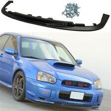 Fits 04 05 Subaru Impreza WRX Sti V-Limited Front Bumper Lip Spoiler Body Kit PP