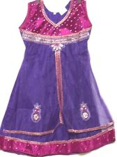 "34"" Anarkali Salwar Kameez for girls age 9 to 12 years Chudithar Bollywood Party"