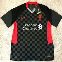 Nike 2020-2021 Liverpool Soccer Vaporknit Third Jersey Sz Medium CZ3200-060 $165