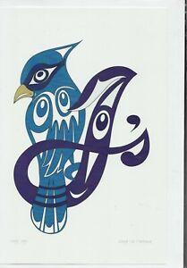 "LADY JAY - 6"" x 9"" - art card by Doug La Fortune - Free Shipping - POD1665"