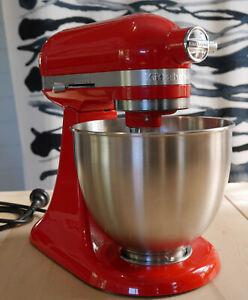 KitchenAid Artisan Mini Stand Mixer 3.3L / 5KSM3311XAHT / as new / HotSauce Red