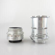 Pour DUGROUPE baïonnette Meyer Trioplan Red V 2.9/50 Objectif/Lens avec tube