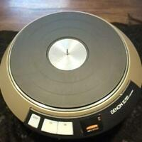 DENON DP3000 Turntable DJ Music Club Servo Direct Drive Shipping From Japan Used