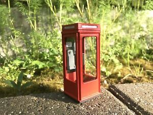 G-scale model scenery - BT Phonebox K8 version - very suitable for GN15