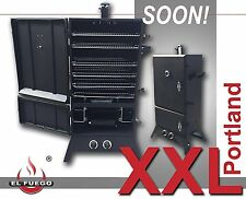 El Fuego Grill Gasgrill Smoker Modell Portland XXL AY 3171