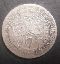 Great Britain 1896 Victoria  Florin  / Two Shilling Silver Coin