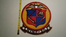 Extremely Rare 1950's 20th Headquarters & Maintenance Squadron Patch. Original!