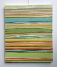"""FOUGERAND.LAURENT _"""" Parallèle 5 """"Huile sur toile du 21/03/2017 _ 65cm x 54cm"""