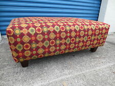 Red Ottomans Footstools And Poufs For Sale Ebay