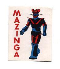 Adesivo MAZINGA Z sticker autocollant No Goldrake
