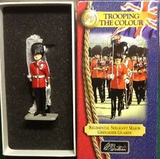 Britains 40108 Grenadier Guards, Regtl. Sgt. Major, Trooping the Colour